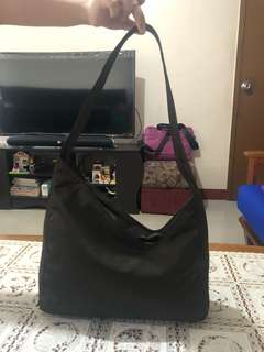 Prada Asymmetrical Shoulder Bag