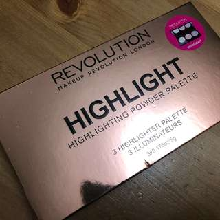 Make Up Revolution highlight palette