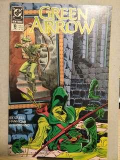 DC comics Green Arrow #19 and #20 (1989)