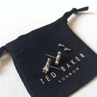(NEW) Ted Baker Prince & Princess Stud Earrings