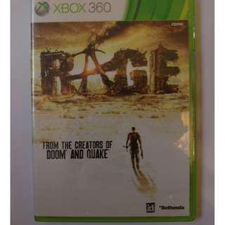 Xbox360遊戲 狂怒煉獄