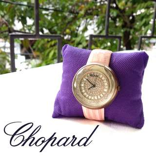 Chopard Pink Wristwatch Watches / Jam Tangan Pink