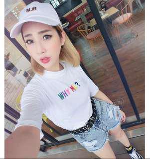 🚚 *Major made 瑪菲斯* MJR金色立體logo白帽