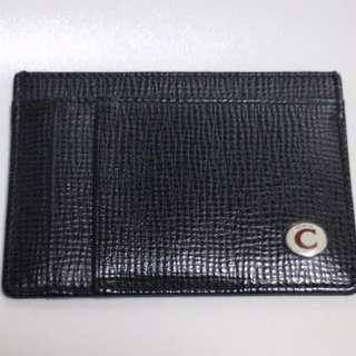 Authentic Coach Black Leather Card Holder