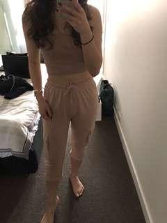 Nude army pants