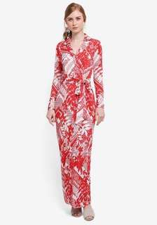 Lubna Wrap Collar Dress