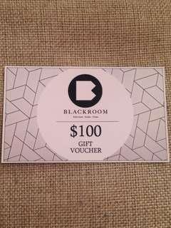 無需購物⭐️FREE $100 BLACKROOM Gift Voucher