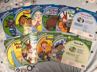 Oxford reading tree stage 2 and 3 Songbirds Phonics