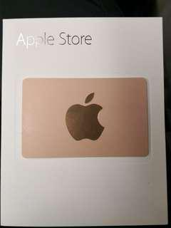 Apple Store Gift Card $500 5張