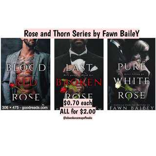 (ebook) Rose and Thorn Series by Fawn Bailey