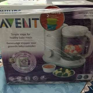 Avent philips food maker baby
