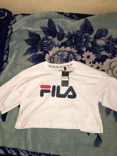 Fila cropped tee brand new