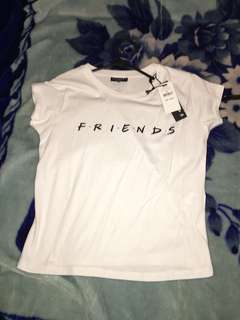 Friends cropped tee brand new