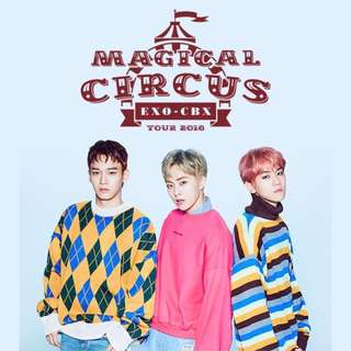 [PREORDER] EXO-CBX MAGICAL CIRCUS LIVE TOUR 2018 IN JAPAN DVD / BLURAY