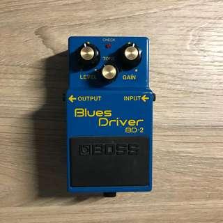 Boss Blues Driver BD2
