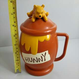 東京迪士尼 Tokyo Disneyland Winnie the Pooh 樂園限定 絕版 膠杯