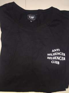 Anti influencer club Tee
