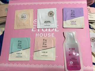 🎀Etude House Makeup / Skin Care Samples
