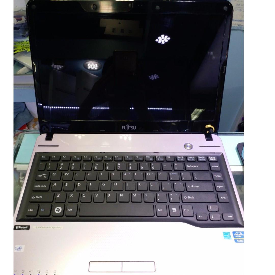 放接近全新 日系優雅高效 紫色 Fujitsu LH532