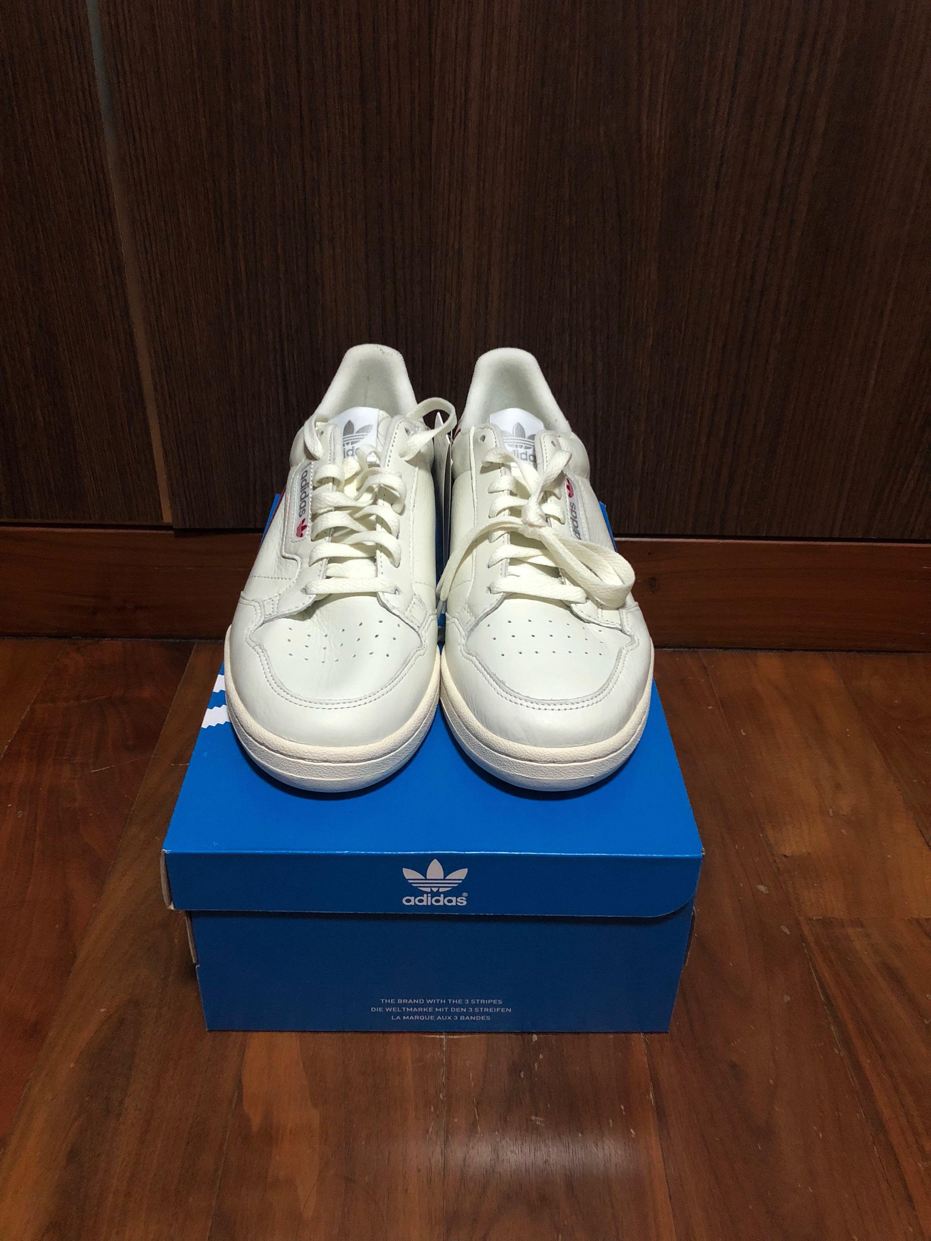f92b805925f86 Adidas continental 80 Cream White