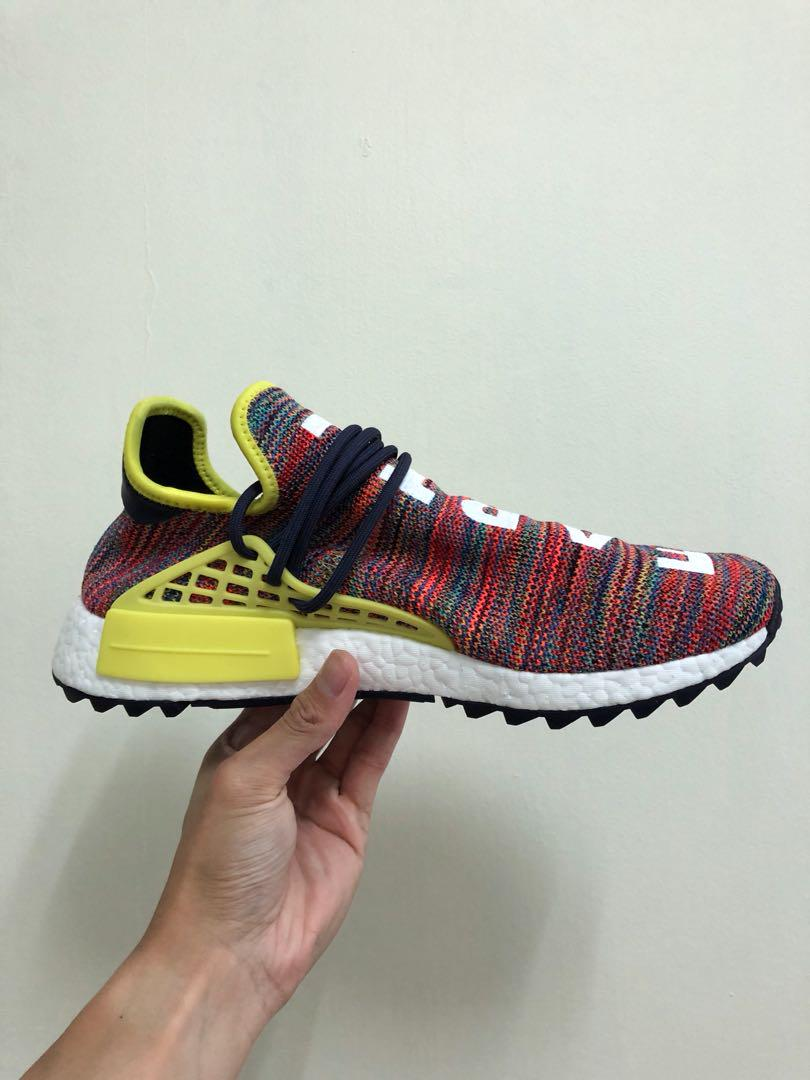 uk availability 33801 74533 Adidas NMD Pharrell Human Race Multicolor US11, Men's ...