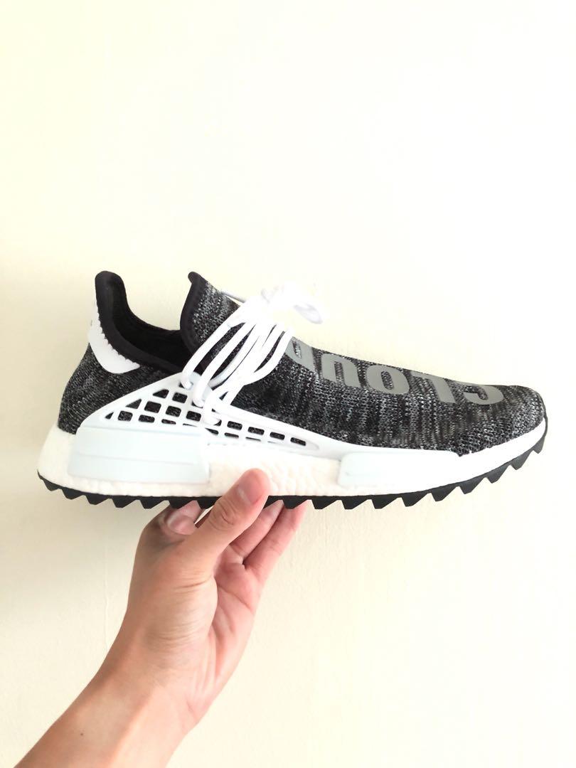 f99c7859ed059 Adidas NMD Pharrell Human Race Oreo US11