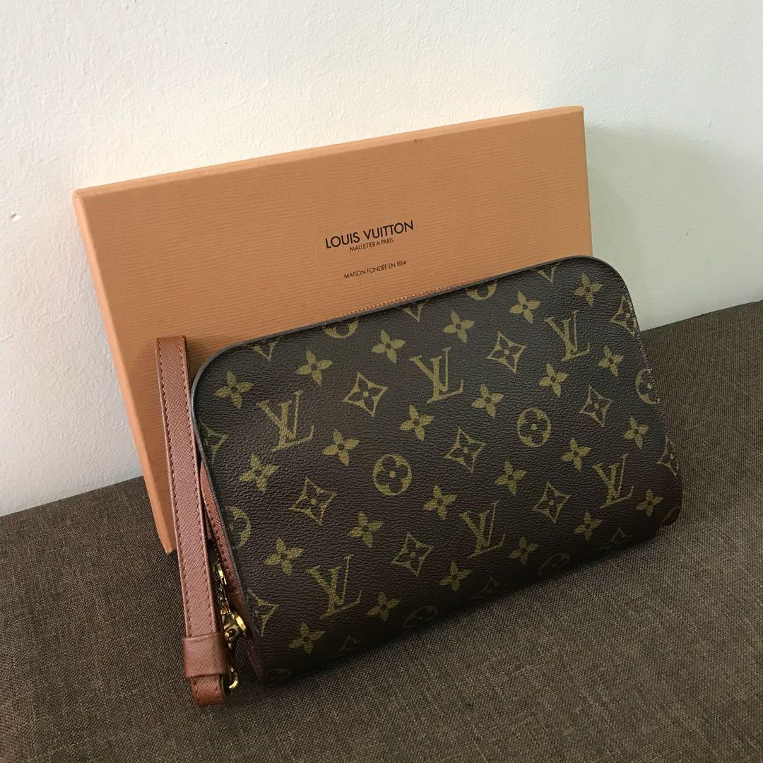 a3e1262a1f12 Authentic Louis Vuitton Orsay Clutch Bag