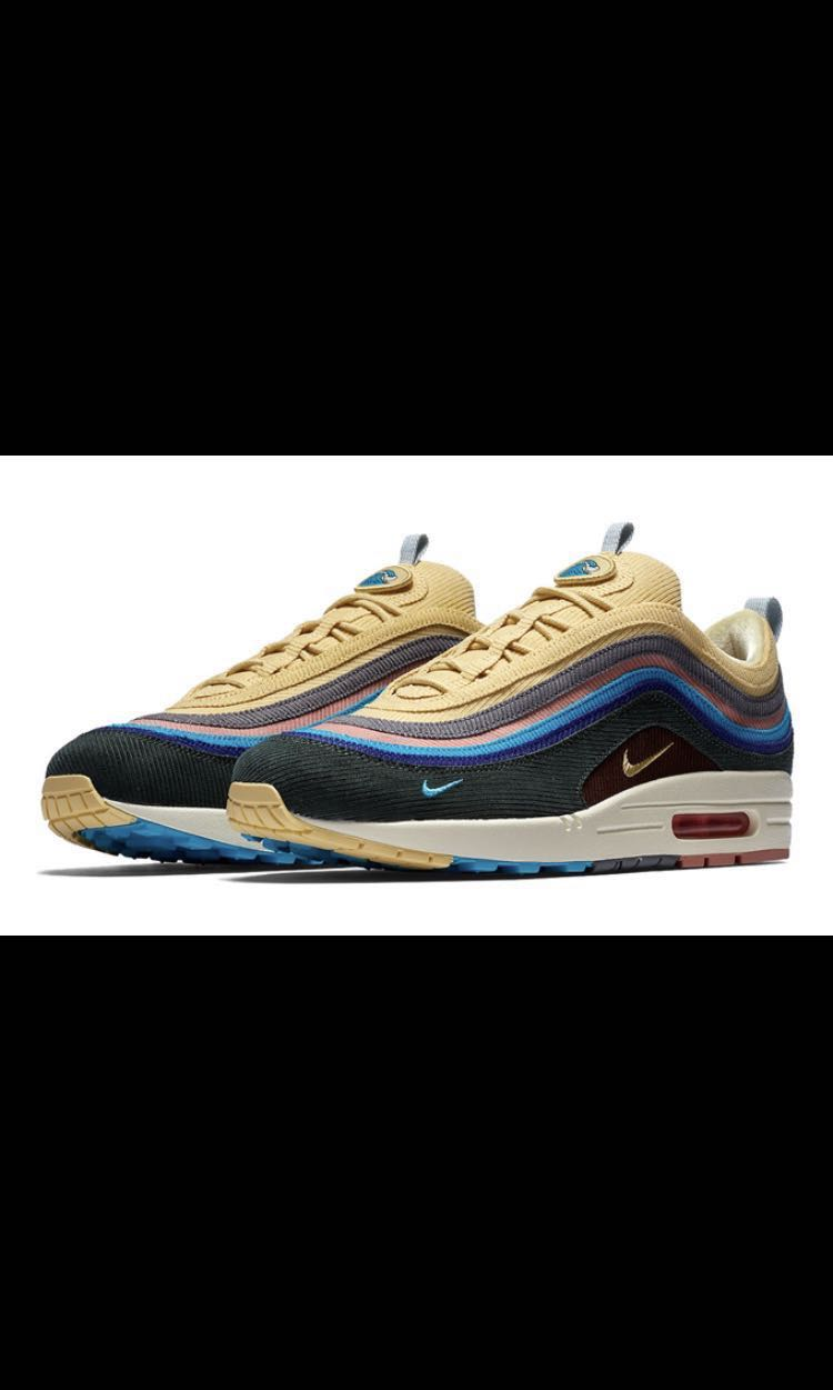 buy online db2a8 7b066 AUTHENTIC Nike Airmax 1/97 Sean Wotherspoon, Men's Fashion, Footwear ...