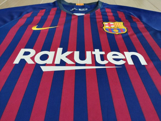 707f985b4 Barcelona Home 18 19 (Fan issue Climalite)