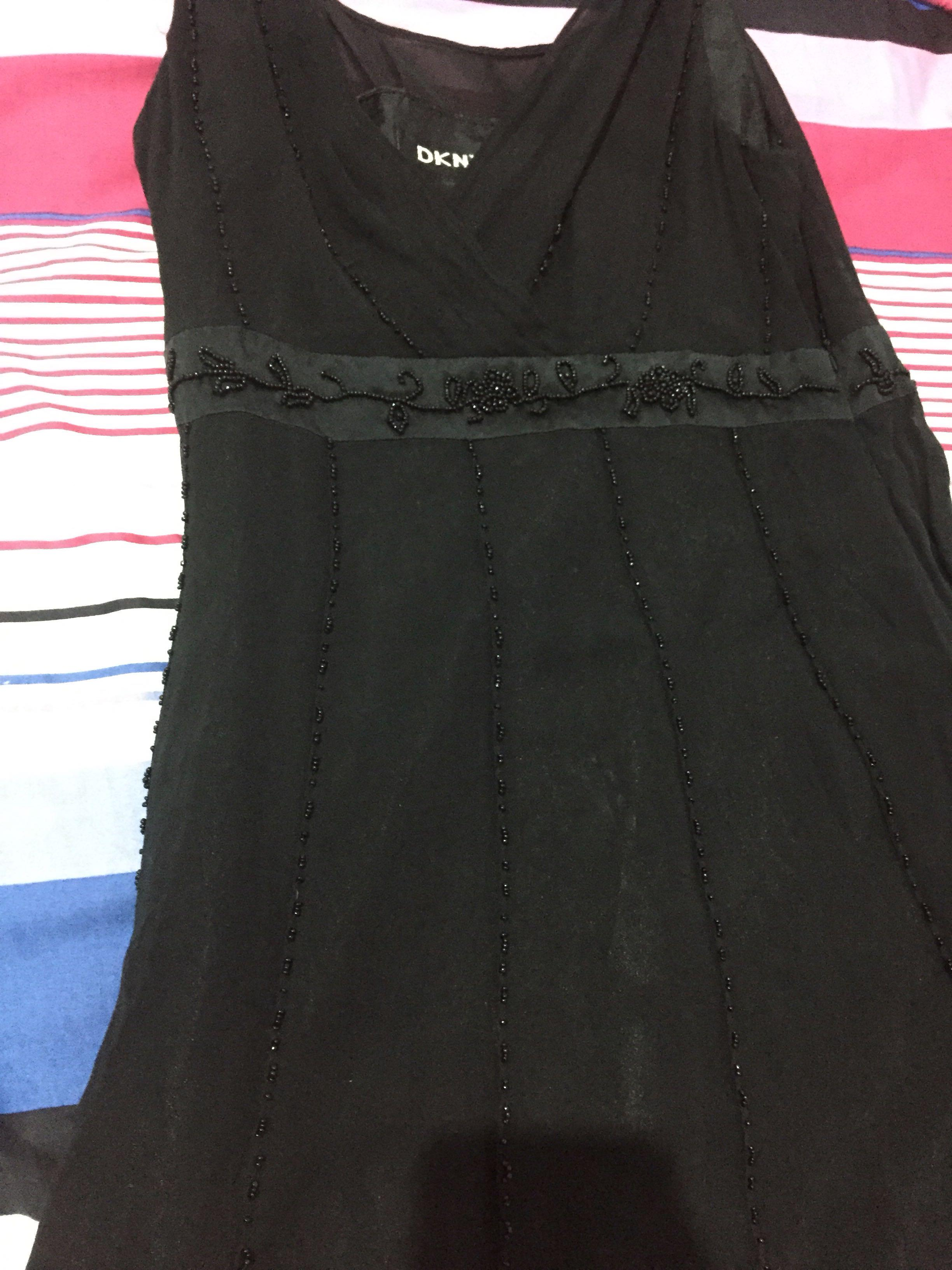 Black dress DKNY