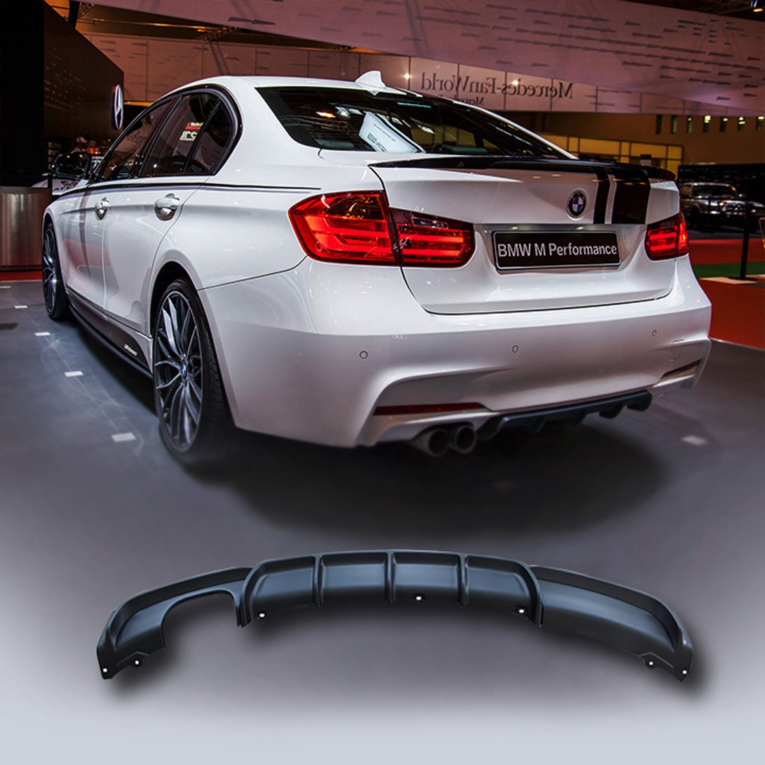 Bmw F30 M Performance Diffuser Bodykit Auto Accessories On Carousell
