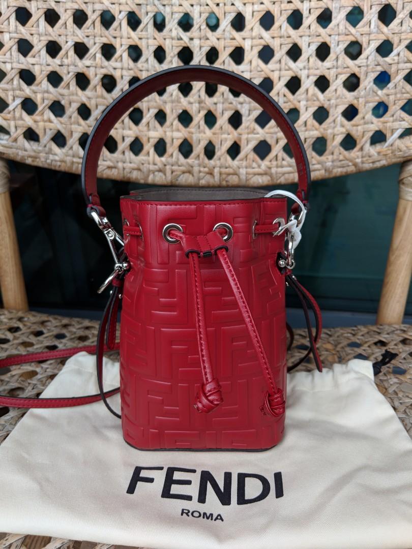82f007b031 reduced  BNWT Fendi Mon Tresor Monogram Bucket Bag