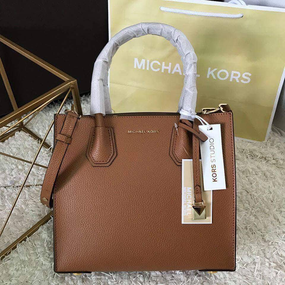 Brand New Authentic Mk Mercer Womens Fashion Bags Wallets On Michael Kors Satchel Carousell