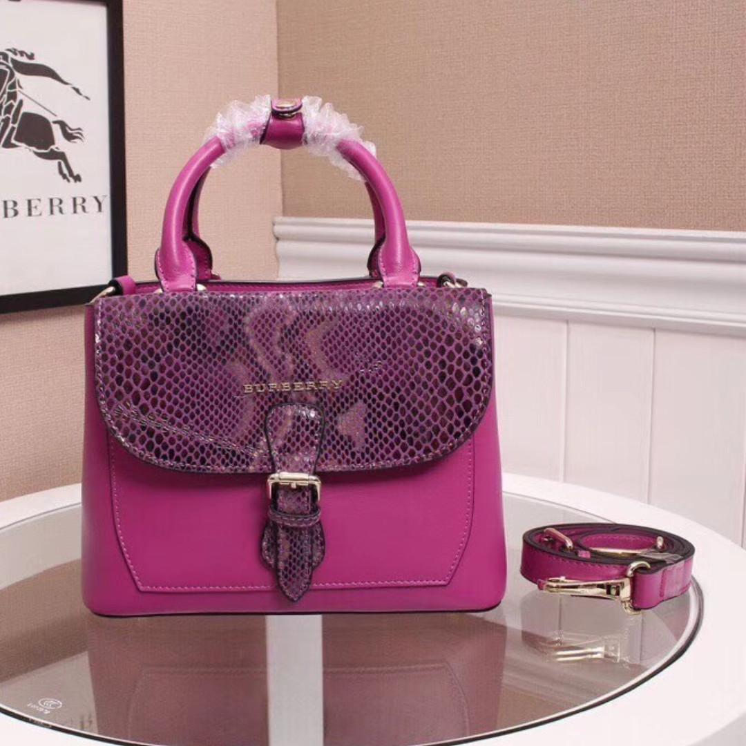 c9a805c2aeca Burberry Purple Bag Small