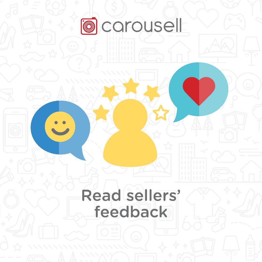Buyer Tip: Read seller's feedback