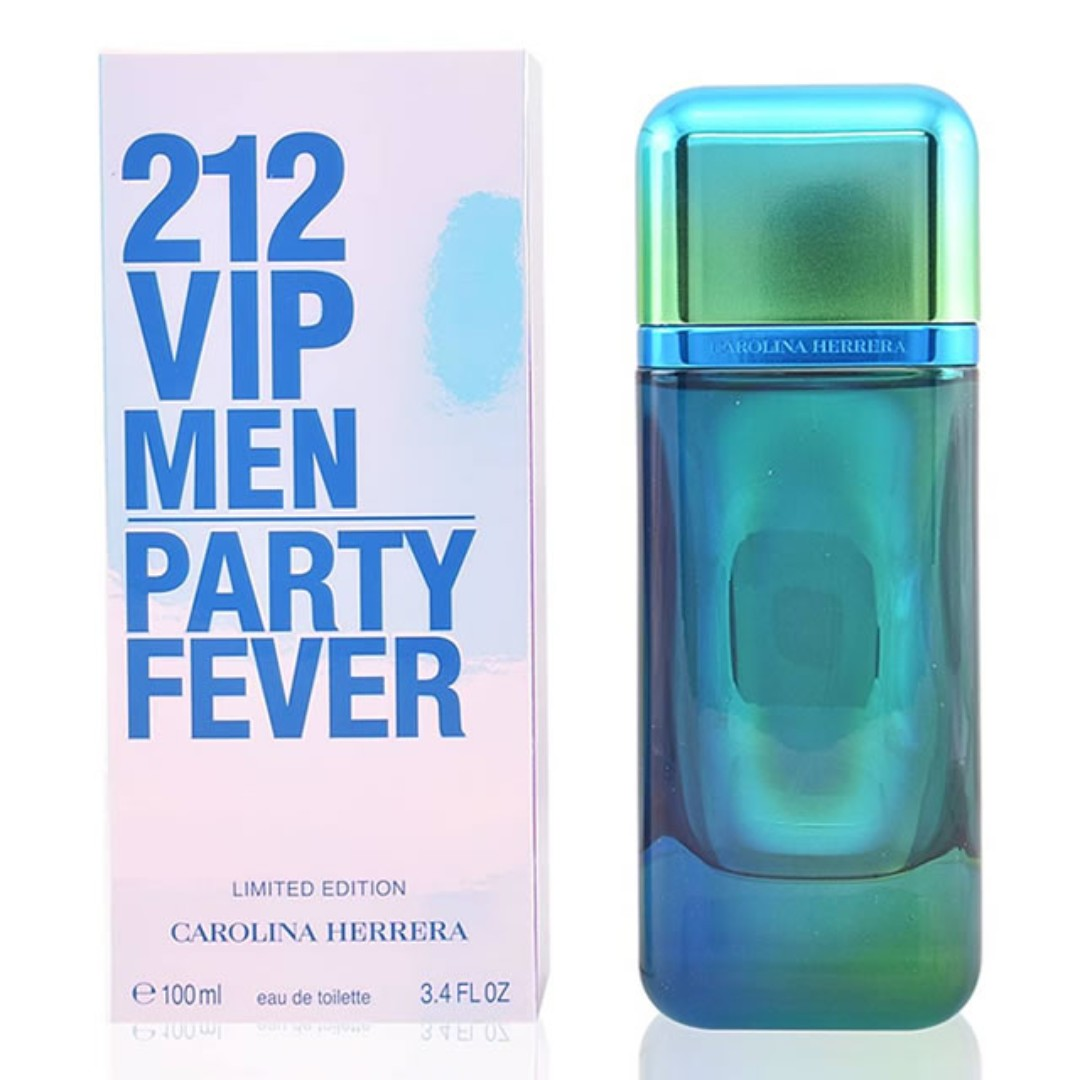 5f6c170fc1 CAROLINA HERRERA 212 VIP MEN PARTY FEVER LIMITED EDITION EDT FOR MEN ...