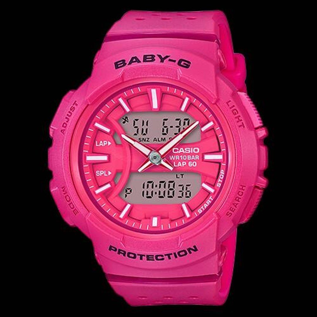 eb0133b8e1dc Casio Baby-G Running Series Analog Digital Sport Watch BGA-240-2A1 ...