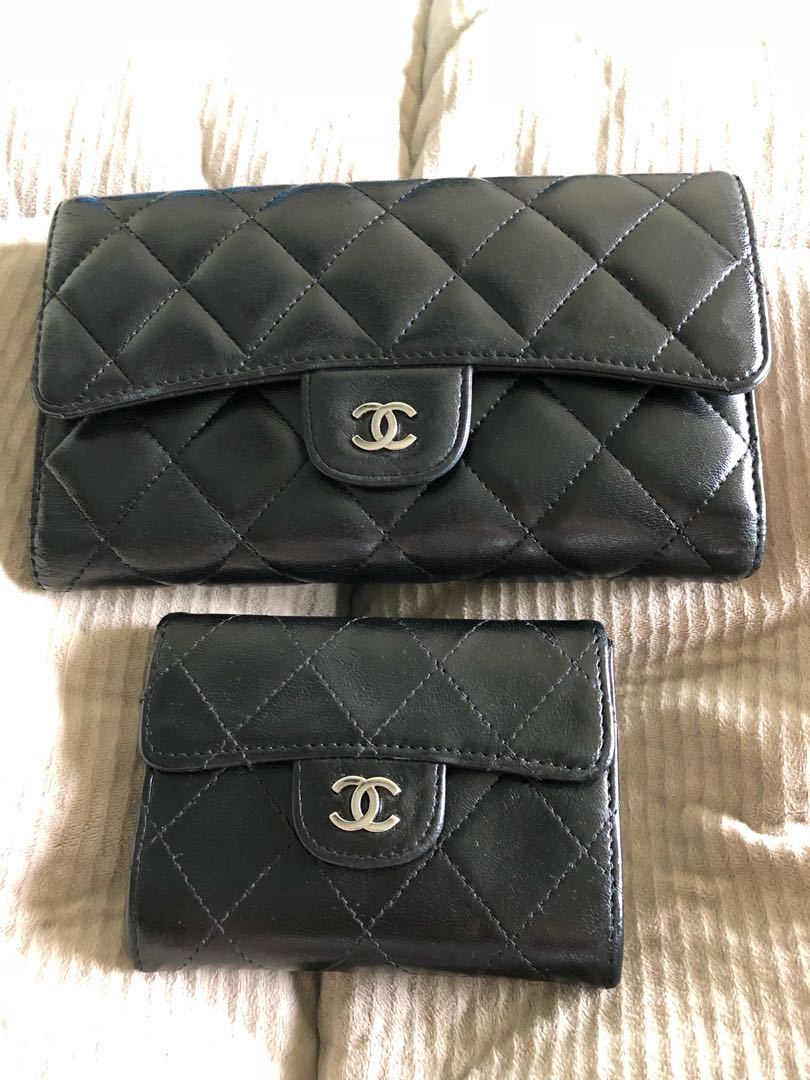 aebe609a8ef4ea Chanel wallet and card holder, Luxury, Bags & Wallets, Wallets on ...