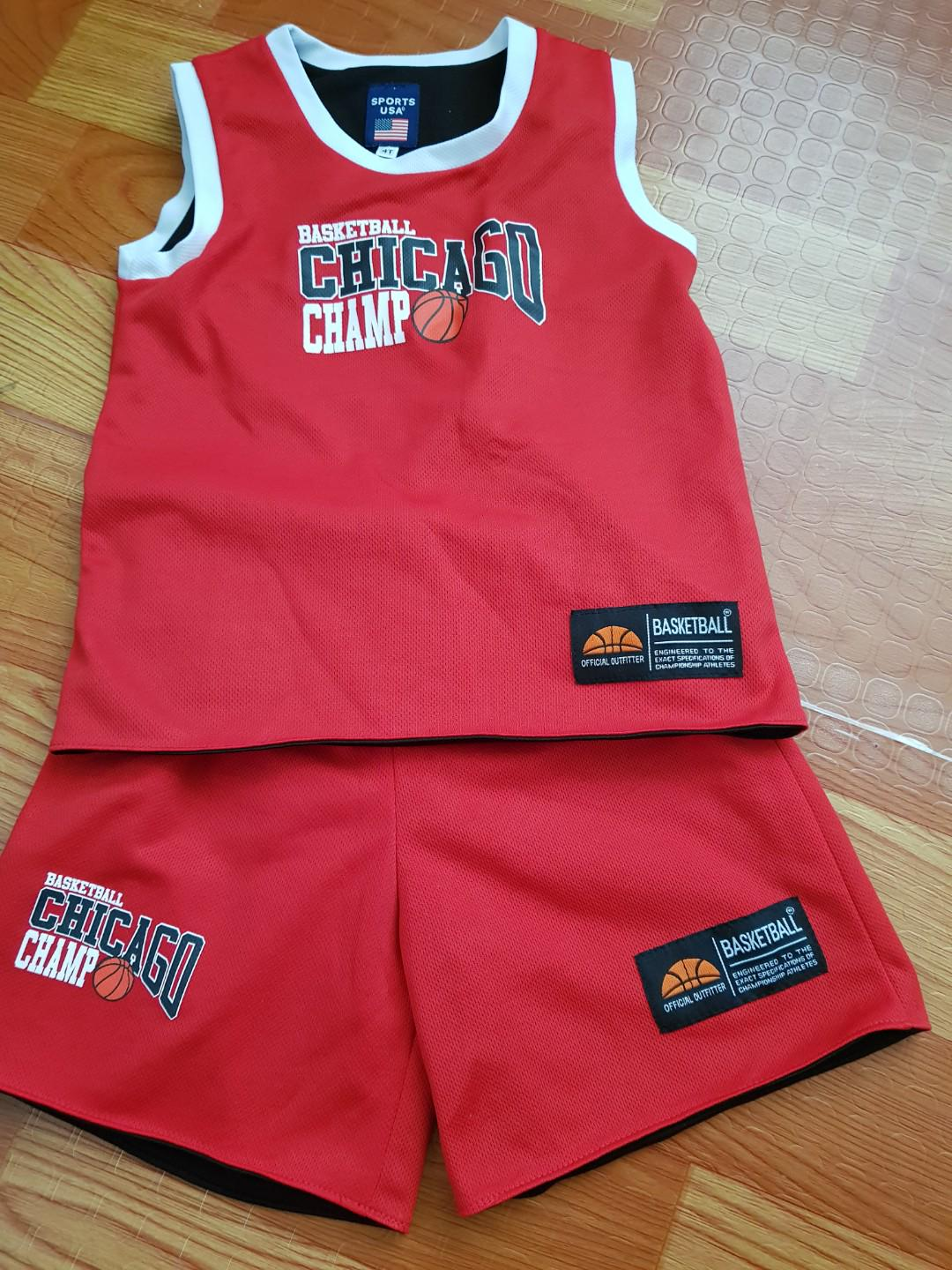 new arrival f5744 8d115 Chicago Bulls JerseySet on Carousell