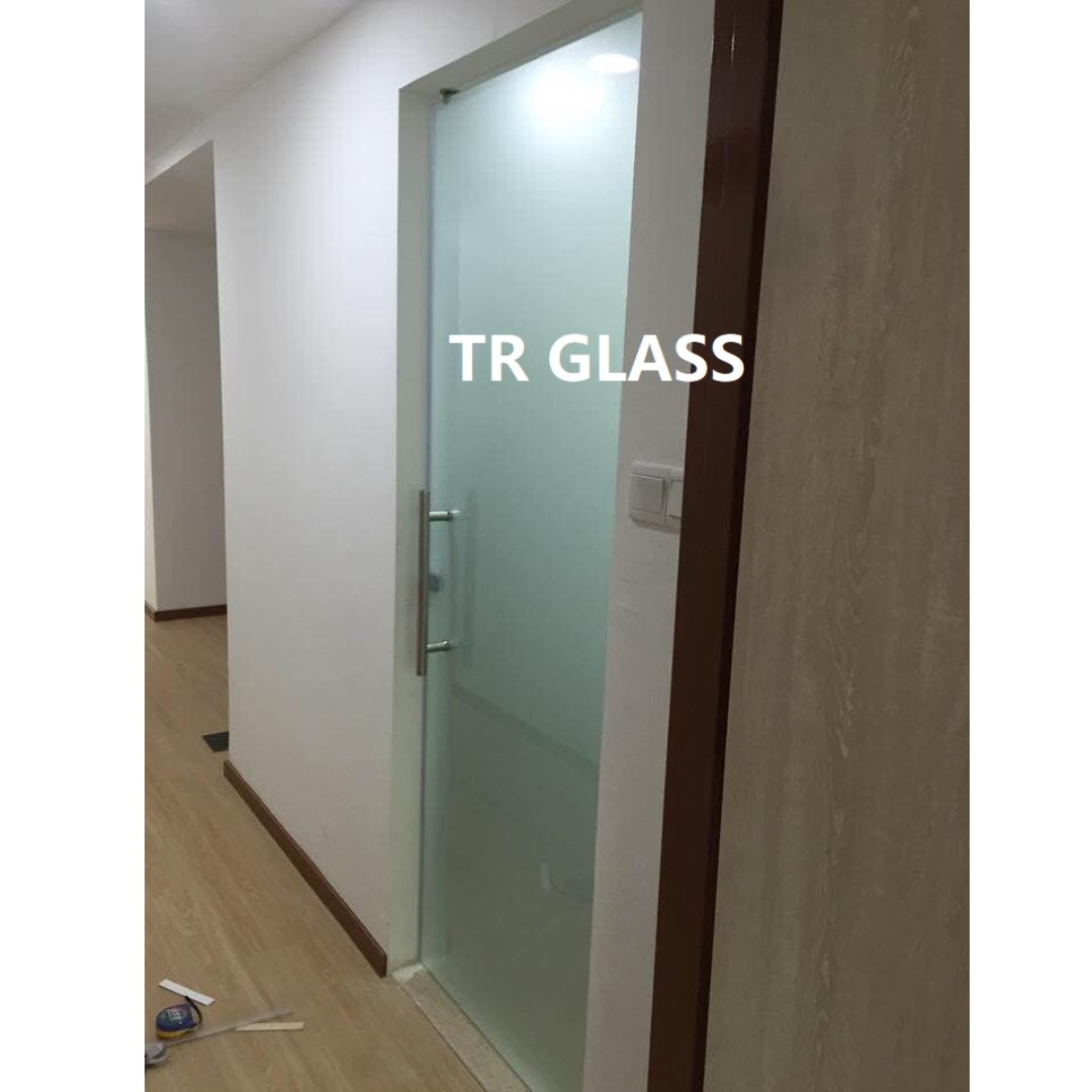 Clear Frosted Toilet Door Furniture Home Decor Others On Carousell