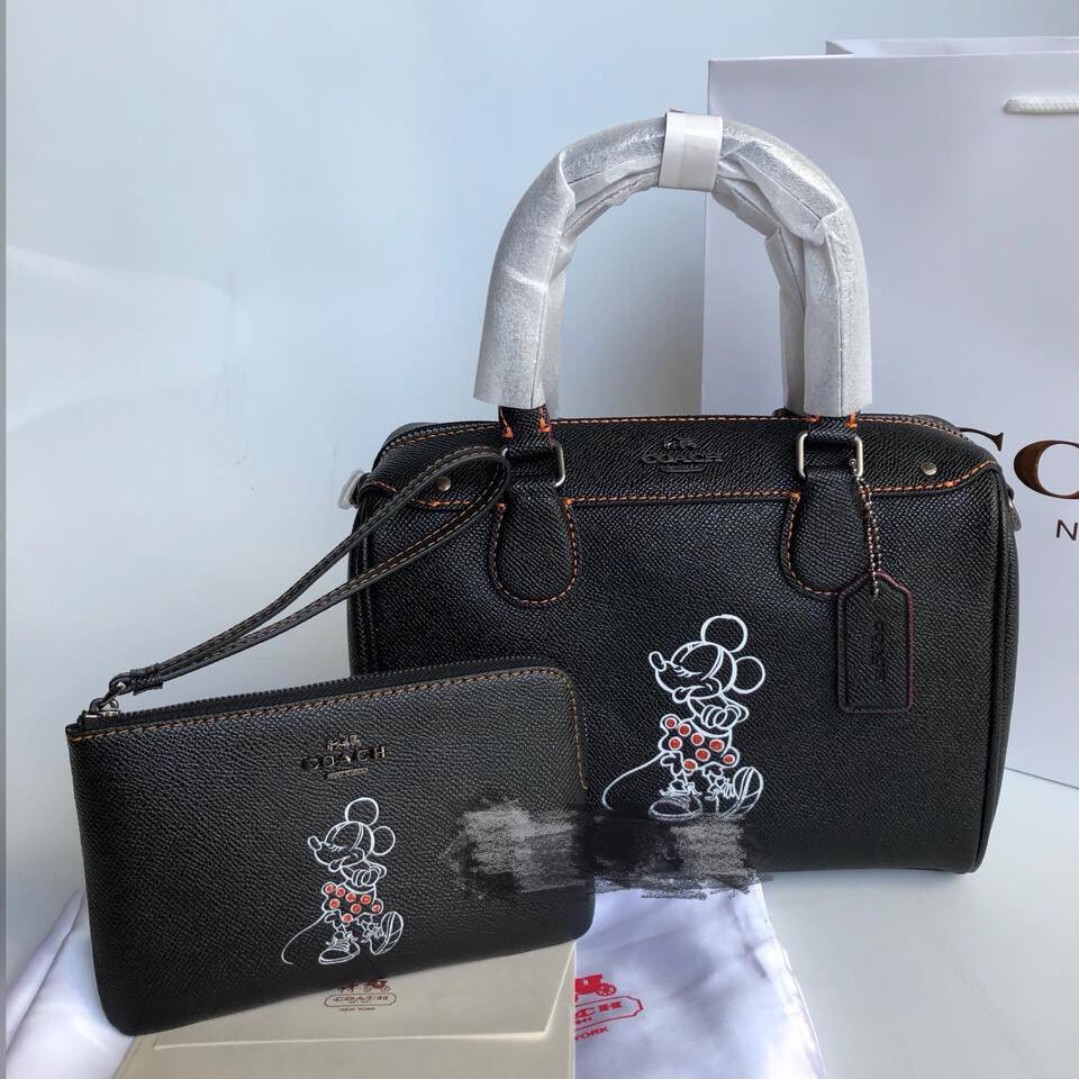 557ffb58d3 Coach Disney Mickey Doctor Satchel Bag Set, Women's Fashion, Bags ...