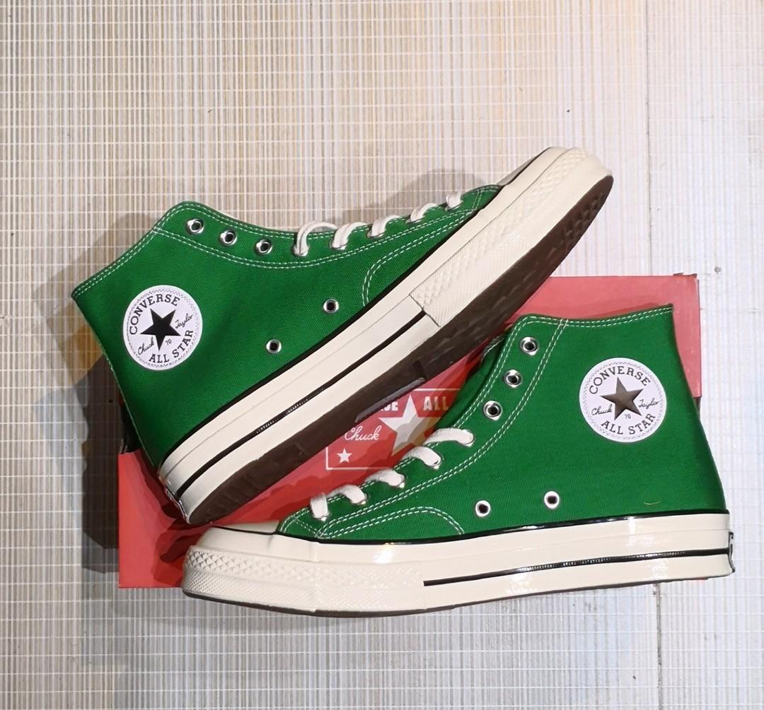 4d7ec92976fe28 Converse chuck 70 green hi size us9