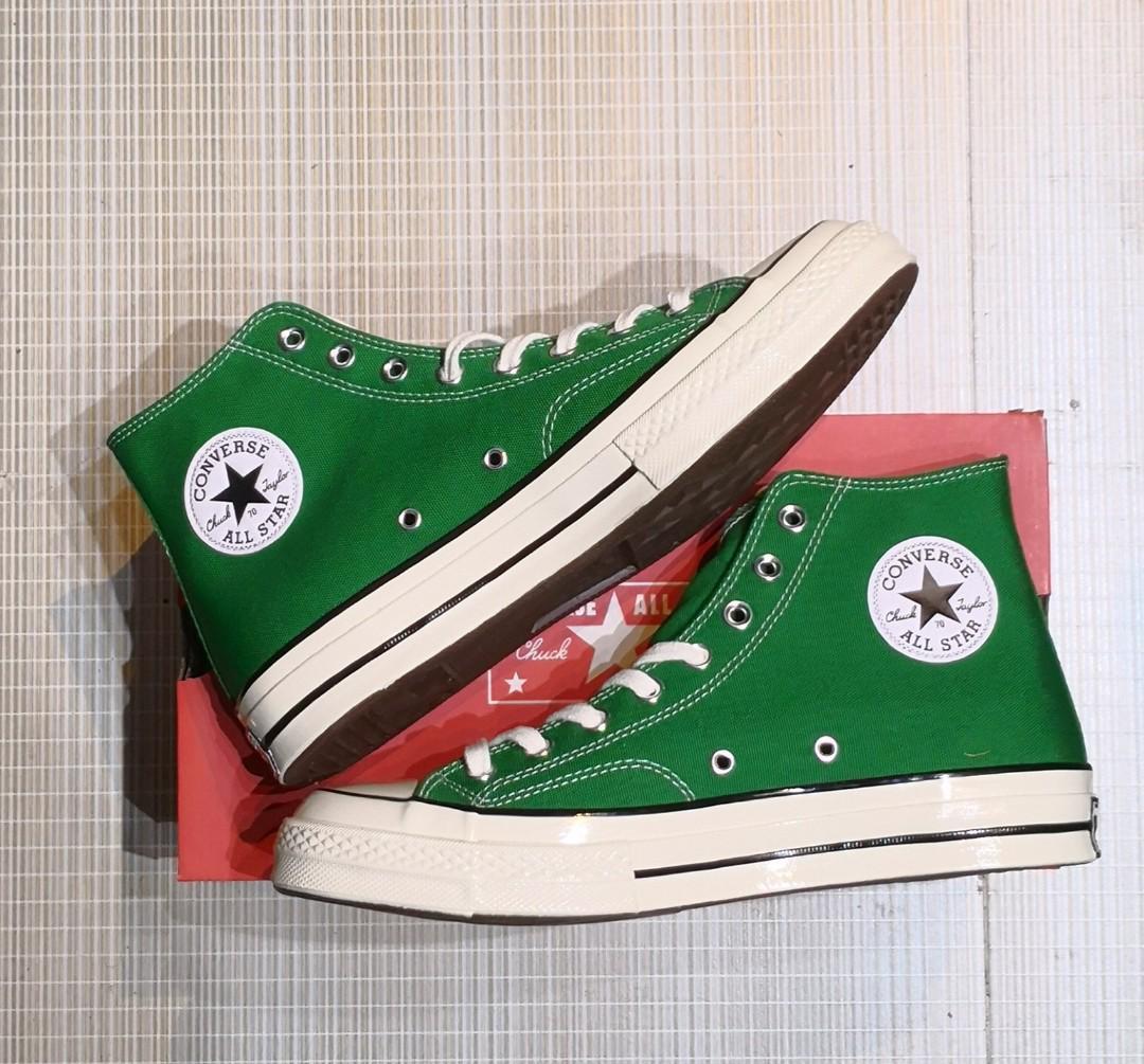 Converse chuck 70 green hi size us9