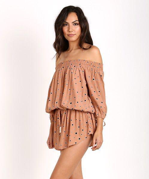 Faithfull the Brand Spotted Playsuit