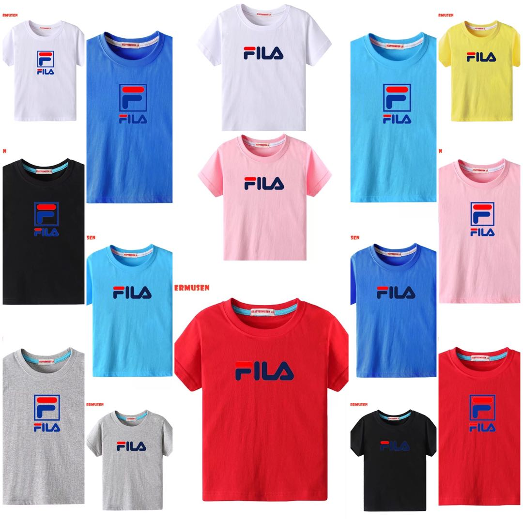 725101cf19be0 FILA Tshirt (PREORDER), Babies & Kids, Boys' Apparel, 1 to 3 Years ...