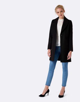 Forever New black coat 4