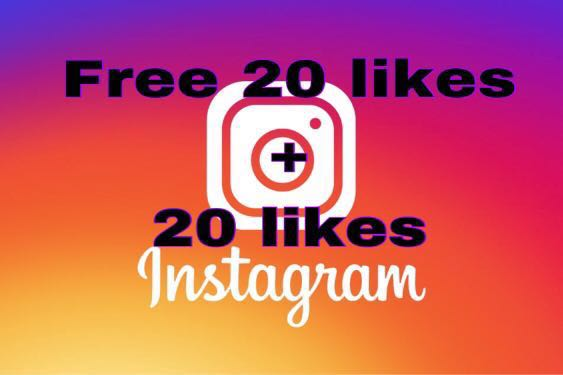 Free 20 + 20 Instagram Likes    Limited time only!!!!!