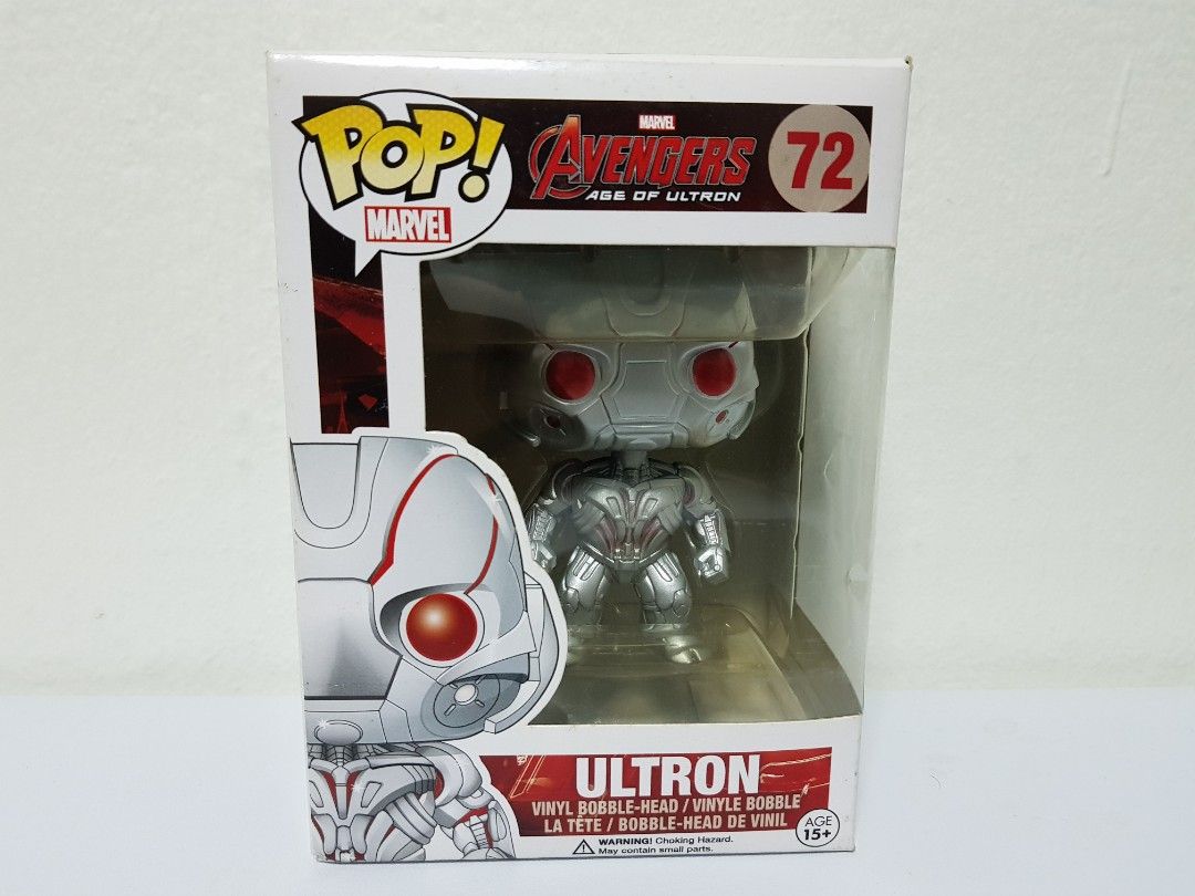 Funko Pop Ultron Toys Games Bricks Figurines On Carousell Destiny Sweeper Bot Sdcc
