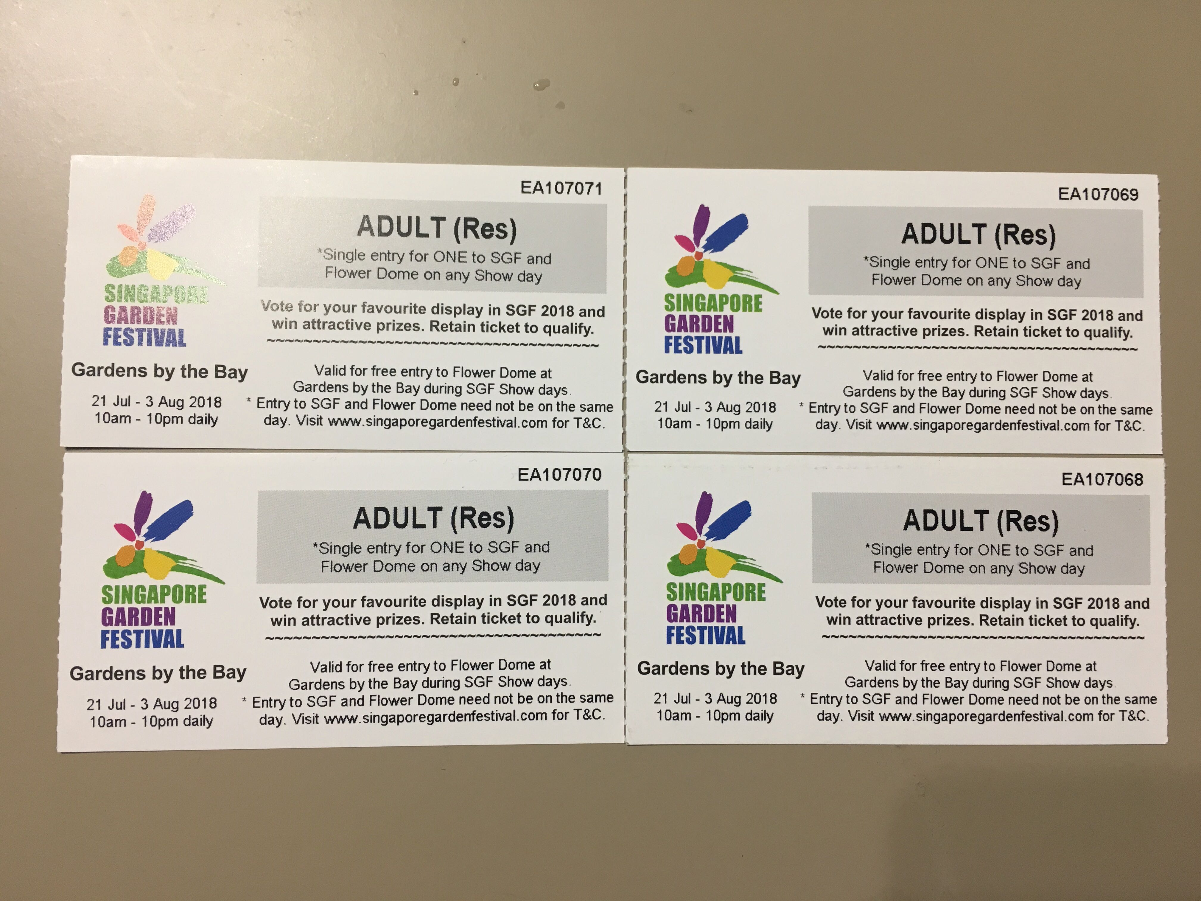 Garden By The Bay Flower Dome Ticket Entertainment Events Adult Concerts On Carousell