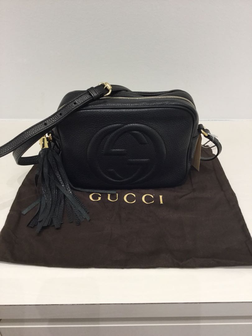 50376ab3cf5 Gucci Soho Disco Leather Crossbody
